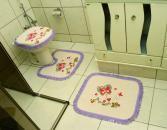 Jogo Banheiro Tear - Franja Lil�s